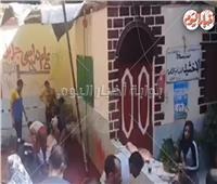 شاهد.. مدرسة بالقاهرة تتحول إلى سلخانة لذبح المواشي في العيد