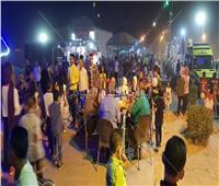 الممشى السياحي بالوادي الجديد ملتقى الأطفال للاحتفال بعيد الأضحى