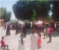 فرقة الفنون الشعبية بقصر ثقافة المنيا تحتفل بثالث أيام العيد