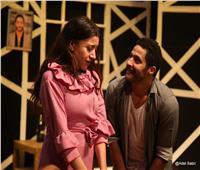 صور| مصطفى منصور يـتألق في «الحادثة» على مسرح الغد