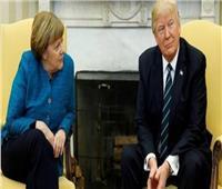 ميركل وترامب يعبران عن القلق بشأن التطورات في سوريا