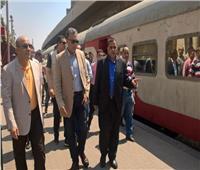 حقيقة تعطل قطار الإسكندرية أثناء تواجد وزير النقل بداخله