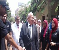 «الخشت»: جامعة القاهرة خالية من فيروس سي خلال 8 أشهر