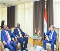 «نصار» يعقد جلسة مباحثات مع وزيري التجارة والصناعة بالسودان