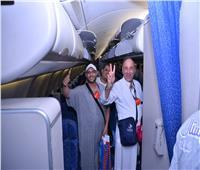 بالصور| مصر للطيران تواصل مرحلة عودة الحجاج
