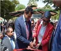 أشرف صبحي يطلق شارة تحرك سفينة النيل للشباب العربي وأبناء حوض النيل