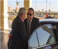 صور| محافظ الإسكندرية الجديد يصل ديوان المحافظة لتسلم مهام منصبه