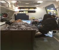المطار يخصص سيارتين إسعاف لنقل مريضتين لمعبر رفح