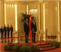 الرئيس الصيني يقيم مأدبة عشاء على شرف «السيسي» والوفد المصري