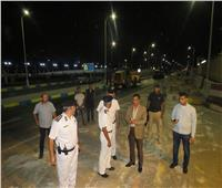 أمن الإسماعيلية يوسع شارع محمد علي استعدادا لافتتاحات اكتوبر
