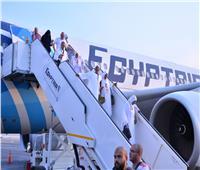 مصر للطيران: غدا.. ٢٢ رحلة لنقل 5 آلاف حاج من الأراضي المقدسة