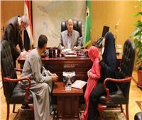 محافظ الفيوم يستجيب لمطلب أسرة شهيد سيناء