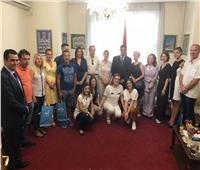 سفيرنا في بلجراد يروج للسياحة المصرية