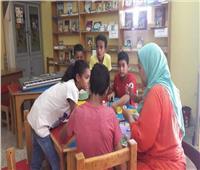 معرض كتب للأطفال بمكتبة الأسرة في ألماظة