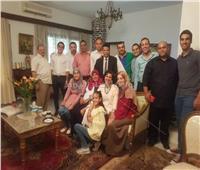 تكريم اعضاء من الجالية المصرية في بورندي واستقبال اعضاء السفارة الجدد