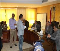 محافظ الفيوم الجديد يعقد اللقاء الأول لخدمة المواطنين