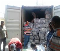 صور| إحباط تهريب ٤ أطنان حشيش و٢٥ كيلو هيروين بميناء بورسعيد