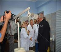 محافظ الجيزة يفتتح أعمال تطوير بمستشفى بولاق العام
