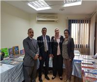 معرض للكتب والأدوات المدرسية في أسوان