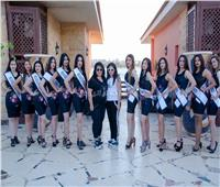 صور| ملكات جمال العرب في جولة سياحية بمارينا
