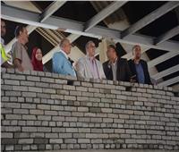 رئيس مترو الأنفاق يتابع أعمال تطوير محطة المرج الجديدة