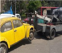 أمن القاهرة يواصل حملاته المكبرة لتطهير العاصمة من الإشغالات