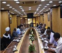 محافظ أسوان يتابع معدلات تنفيذ مشروع الطاقة الشمسية في بنبان