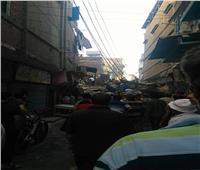 إصابة 6 أشخاص في انهيار عقار بعزبة البرج في دمياط