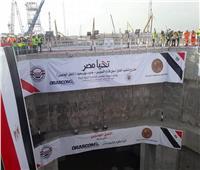 المراسلون الأجانب يشيدون بقدرة المصريين على تنفيذ أنفاق قناة السويس