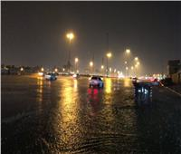شاهد| أمطار رعدية في مكة المكرمة