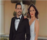 شاهد | حامد الشراب وزوجته يخضعان لجلسة تصوير بعد عقد قرانهما