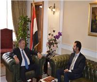 وزير قطاع الأعمال يلتقي ممثل صندوق النقد الدولي في مصر