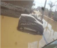بالصور| شوارع المحلة تسبح في بركة مياه.. والأهالي يستغيثون بمحافظ الغربية