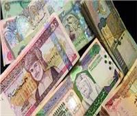 سعر الدينار الكويتي والعملات العربية أمام الجنيه في البنوك اليوم