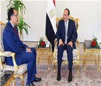 رئيس الوزراء يهنئ الرئيس عبد الفتاح السيسى بالعام الهجرى الجديد