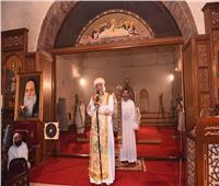 البابا تواضروس يترأس قداس الأربعين للأنبا إبيفانيوس