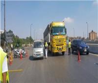 المرور: تطبيق حظر سير النقل بالقاهرة الكبرى في المواعيد المقررة