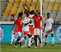 محمد صلاح يسجل الهدف الثالث لمنتخب مصر في مرمى «النيجر»