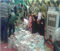 أهالي المعصرة: معرض «مستقبل وطن» وفر علينا نصف ميزانية مصروفات العام الدراسي
