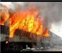 «السكة الحديد» توضح حقيقة حريق قطار كفر الشيخ