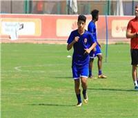 عمار حمدي يتخلص من آلام القدم ويشارك في مران الأهلي