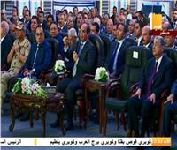 الرئيس يقاطع مدير «المهندسين العسكريين» خلال افتتاح الطريق الدائري