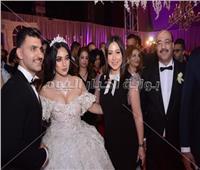 صور| فتحي سرور والزند والعامري فاروق في زفاف «مهاب وميرنا»