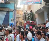 بالصور.. جنازة عسكرية للشهيد أحمد المنيسي بمسقط رأسه بالغربية