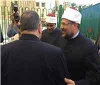 صور| وزير الأوقاف يصل إلى احتفالية رأس السنة الهجرية بالحسين