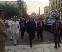 بالصور| محافظ القاهرة يصل مقر الاحتفال برأس السنة الهجرية