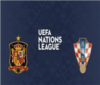 اليوم.. إسبانيا تواجه كرواتيا في دوري الأمم الأوروبية