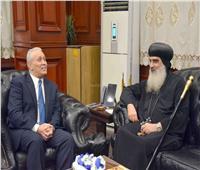 محافظ الأقصر يستقبل وفد الكنيسة الأرثوذكسية