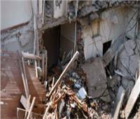 إصابة ربة منزل ونجلها في إنهيار جزئي لعقار غرب الإسكندرية
