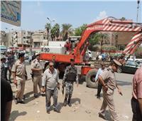 رفع 40 طن قمامة في حملة مكبرةبشبرا الخيمة